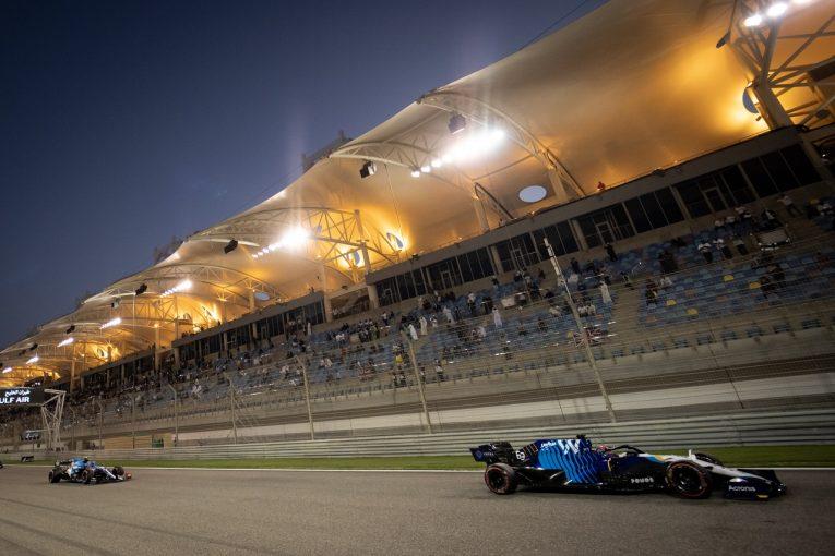 F1   ウイリアムズF1のラッセル、開幕戦でマシンの向上を確認「今年は何度か入賞したい」