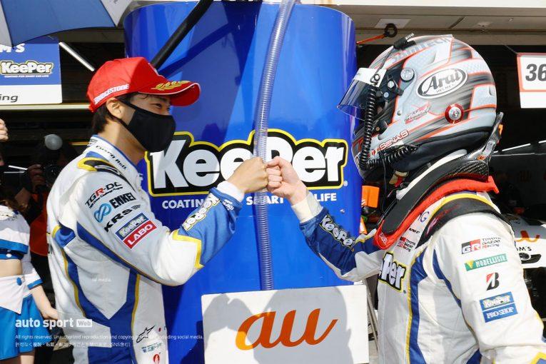 スーパーGT   阪口晴南が代役ながらポール獲得。速すぎトヨタGRスープラがトップ5占拠【第1戦岡山GT500予選】