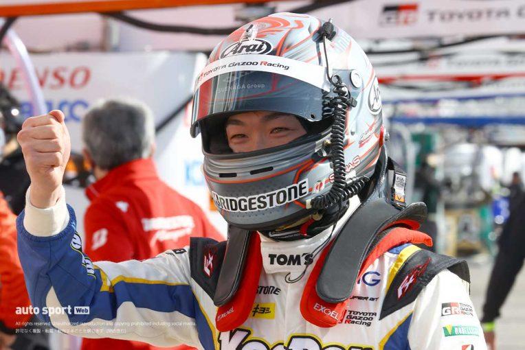 スーパーGT   阪口晴南、昨年のGT500デビュー時と今季の違い。初ポールを支えたトムスのアプローチ【GT500予選あと読み】
