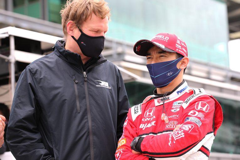 海外レース他 | 速さを見せた佐藤琢磨。課題が残るテストに「今日はトラブルが続いてしまった」