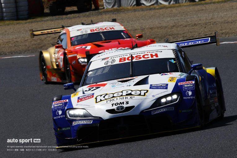 スーパーGT   悪夢再び……トップ走行のKeePer TOM'S GRスープラを襲った不幸な2つのアクシデント【第1戦岡山GT500決勝】