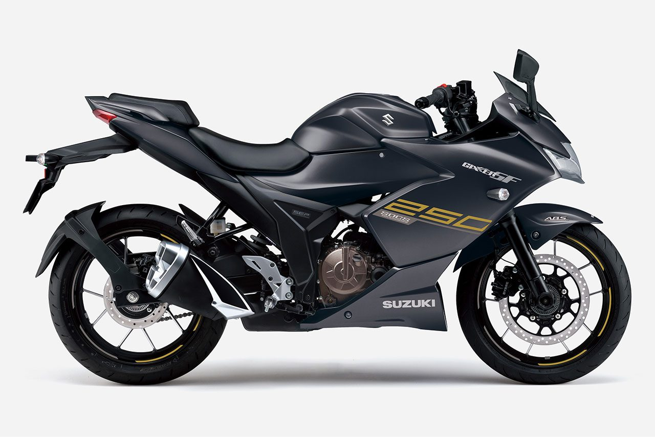 スズキ、油冷エンジン搭載の『ジクサーSF250』『ジクサー250』のカラーリングを変更して4月20日から順次発売