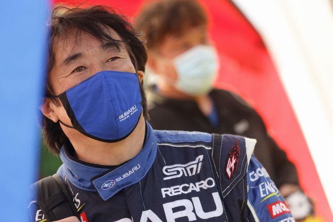 新井敏弘(富士スバル AMS WRX STI) 2021全日本ラリー第3戦唐津
