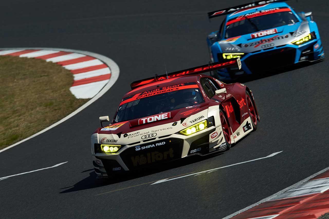 アウディ 2021スーパーGT第1戦岡山 レースレポート