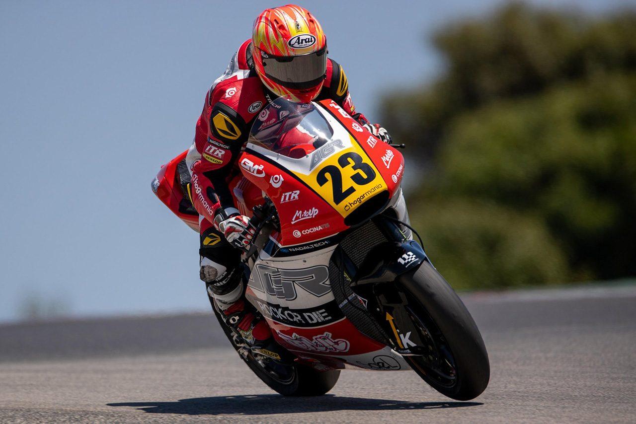 CEV Moto2、フル参戦2年目を迎える羽田太河「まずは表彰台に立ちたい」