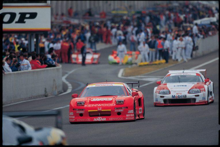 レーシングオン | 【忘れがたき銘車たち】NSXとターボ、苦難の船出。ホンダNSX GT1