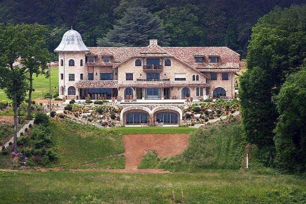 シューマッハー家が所有するスイスのヴィラ