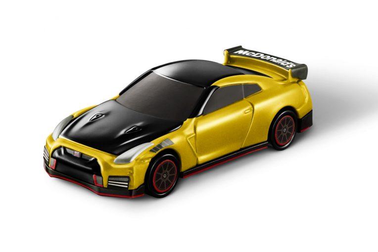 インフォメーション | マクドナルドのハッピーセットでニッサンGT-Rがもらえる。ゴールド塗装の特別版も登場