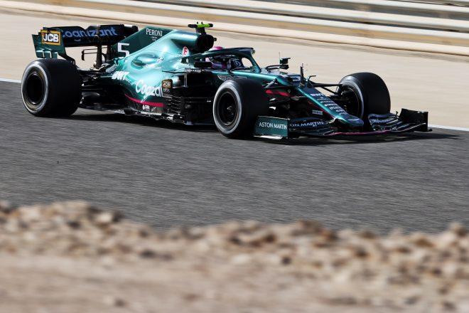 2021年F1第1戦バーレーンGP セバスチャン・ベッテル(アストンマーティンAMR21)