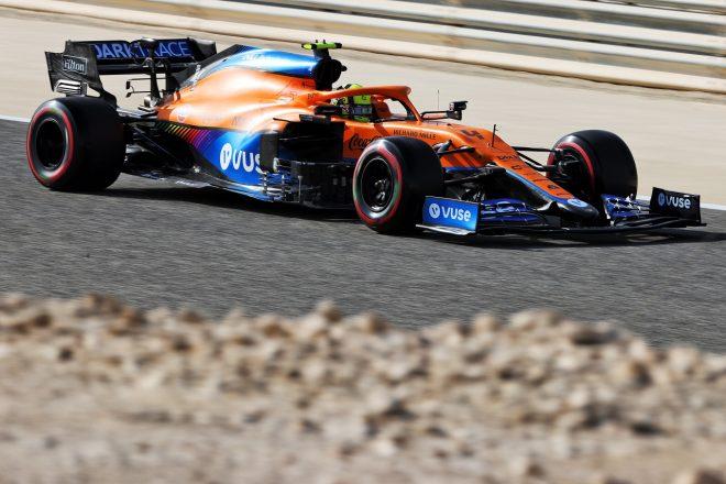 2021年F1第1戦バーレーンGP ランド・ノリス(マクラーレンMCL35M)