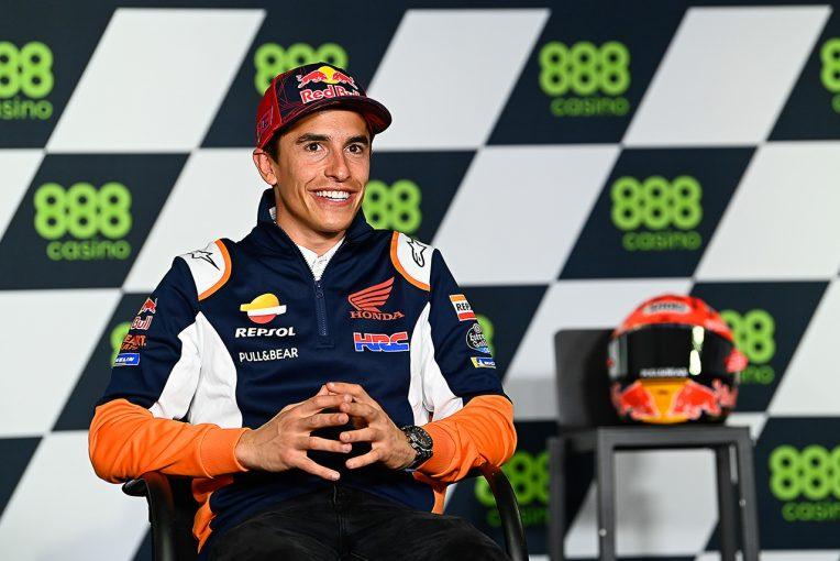 MotoGP | マルク・マルケス、レース復帰の心境は「緊張しているけど楽しみ。何もこだわるつもりはない」/MotoGP第3戦ポルトガルGP
