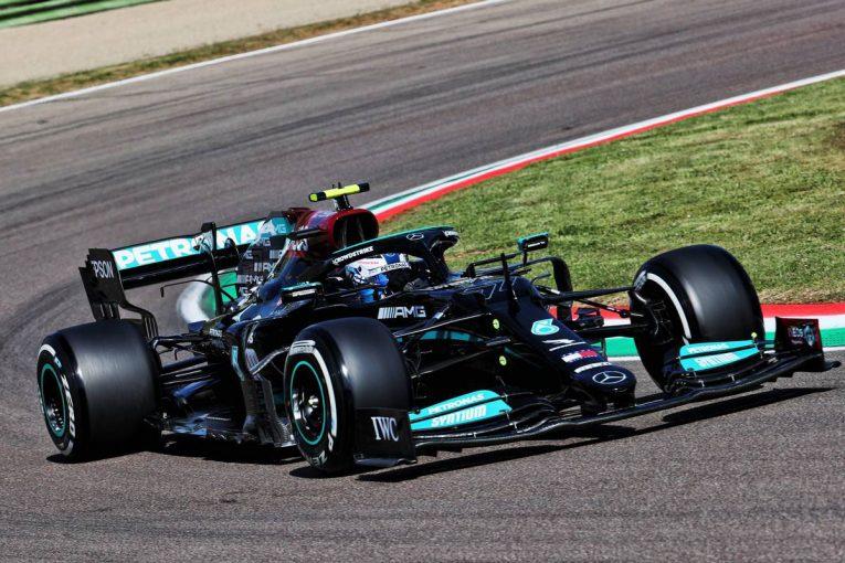 F1 | エミリア・ロマーニャGP FP1:ボッタスが首位。ホンダPU勢はフェルスタッペン3番手、ガスリーが5番手に