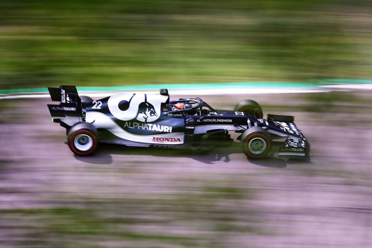 F1 | ガスリーが3番手、角田裕毅は7番手に【タイム結果】F1第2戦エミリア・ロマーニャGPフリー走行2回目