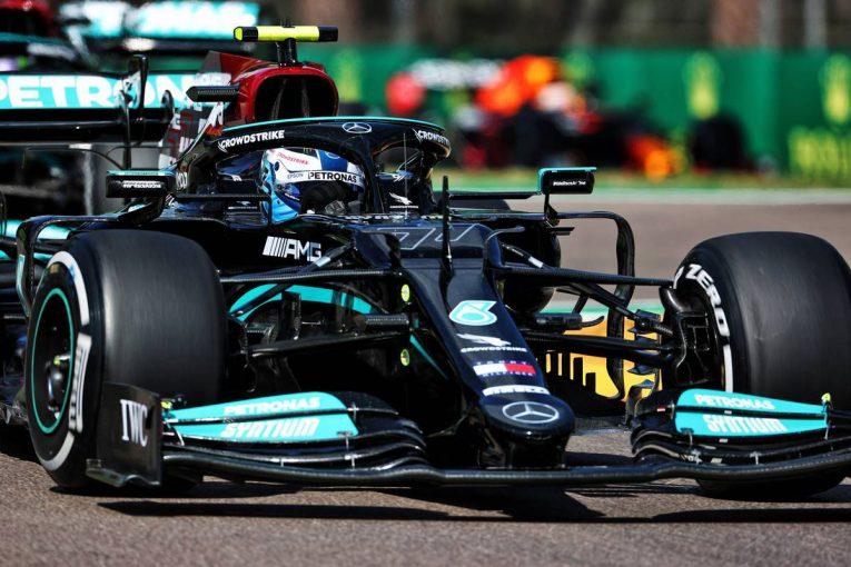 F1 | エミリア・ロマーニャGP FP2:初日はメルセデス勢が1-2。フェルスタッペンにトラブル発生、走行はわずか5周