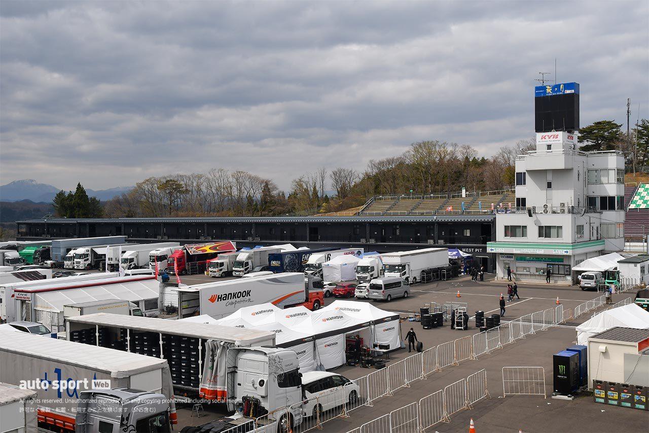 スーパー耐久第2戦開催中のスポーツランドSUGOが第1期改良工事後初のビッグレースに。改良点を見る