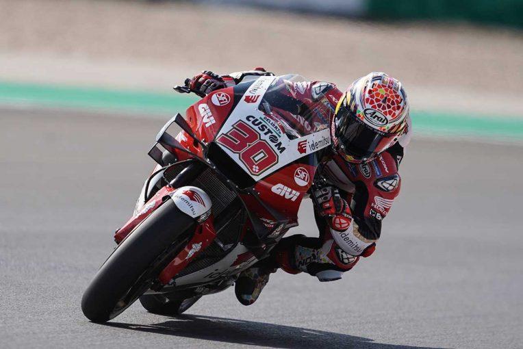 MotoGP | 中上貴晶「大きな転倒による痛みで苦戦しましたが、ベストを尽くしました」/MotoGP第3戦ポルトガルGP初日