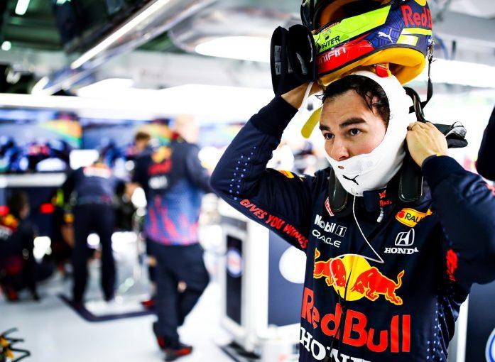 F1 | ペレス「オコンとの接触は単なる不運な事故。通信障害も影響」レッドブル・ホンダ/F1第2戦金曜