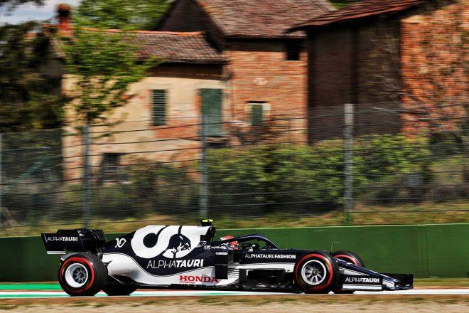 2021年F1第2戦エミリア・ロマーニャGP ピエール・ガスリー(アルファタウリ・ホンダ)