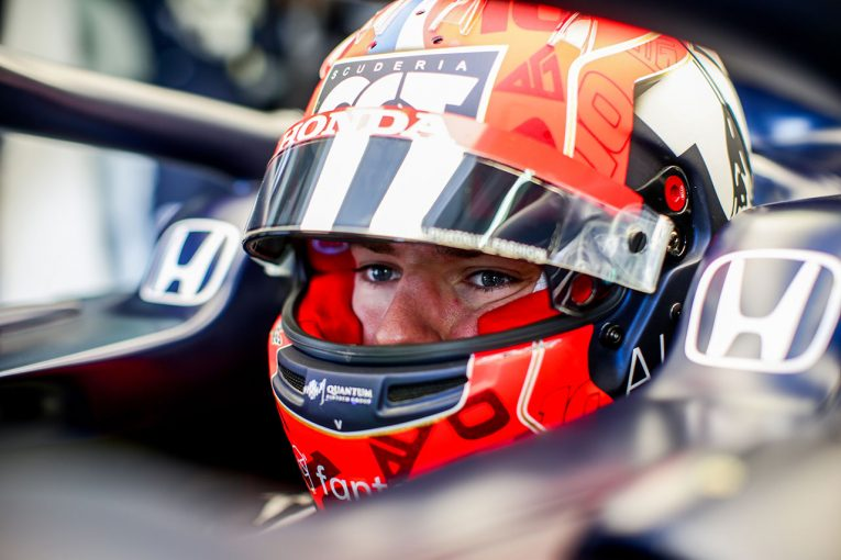 F1 | AT02の強みはリズミカルな中高速コーナー。ガスリー「開幕戦以上の速さが出せる」/F1第2戦インタビュー
