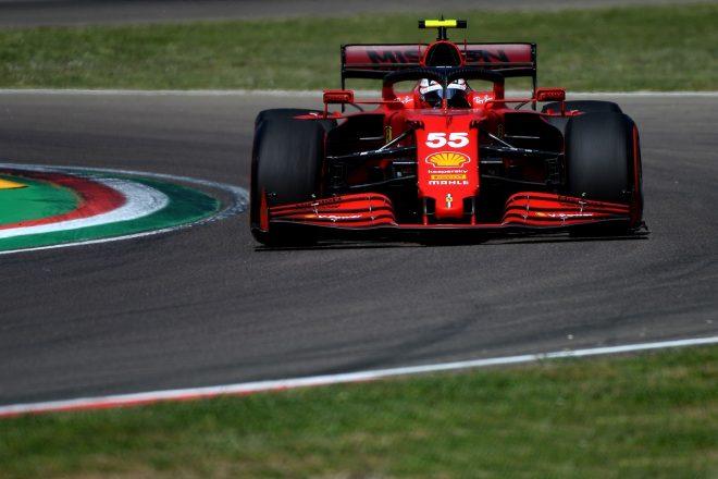 2021年F1第2戦エミリア・ロマーニャGP カルロス・サインツJr.(フェラーリ)