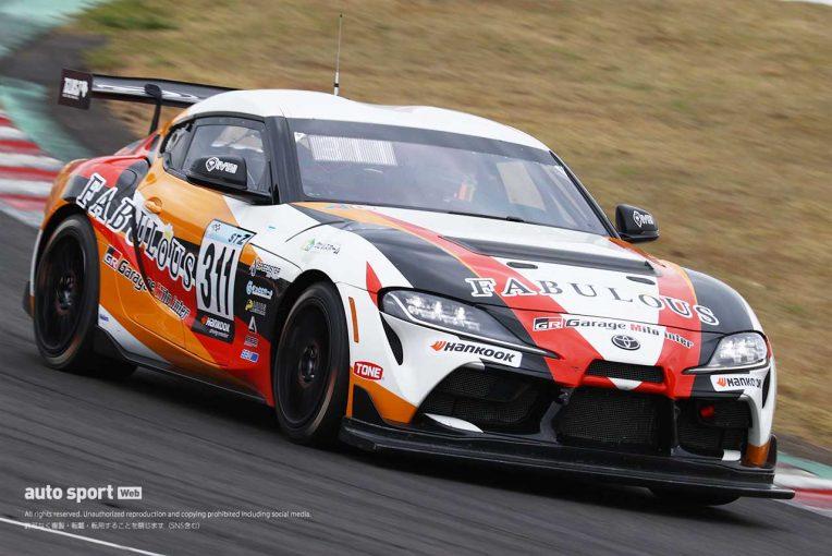 国内レース他 | GRスープラ GT4がST-Zクラス初PP獲得も「余裕はないです」と久保凜太郎【S耐第2戦SUGO】