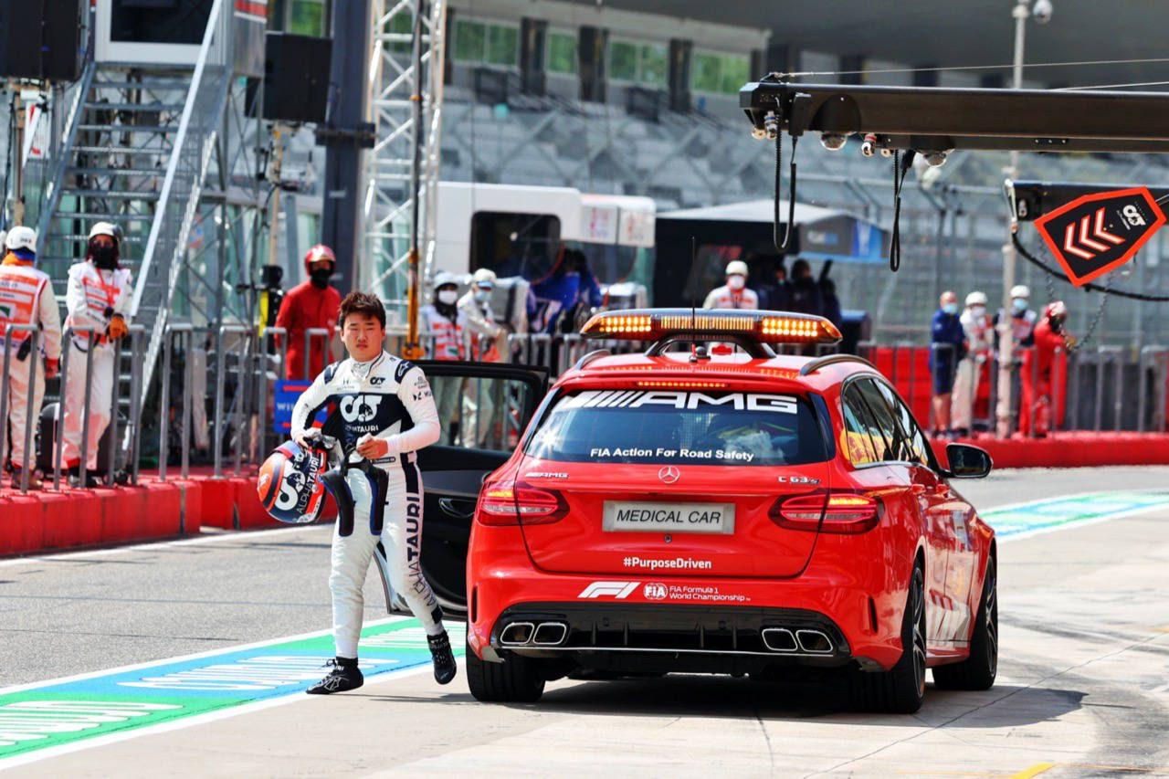 【SNSピックアップ】F1第2戦(2):あの無線から痛恨のシーンまで総まとめ。山あり谷あり角田裕毅の土曜日