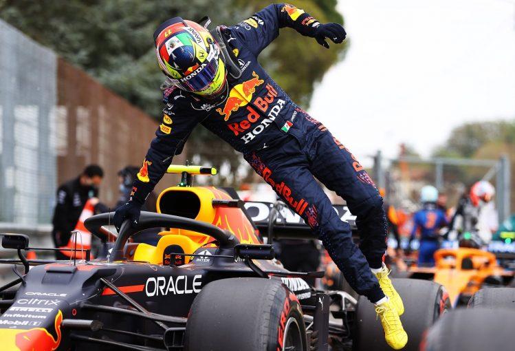 F1 | ペレス、0.035秒差の予選2番手「ミスがなければポールだった。優勝争いができるって最高」レッドブル・ホンダ/F1第2戦