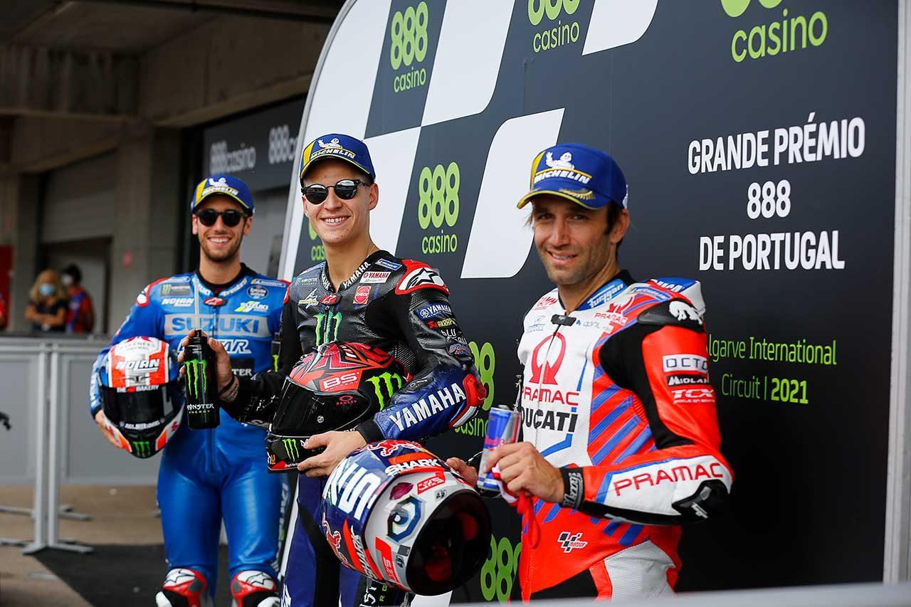 2021年MotoGP第3戦ポルトガルGP予選