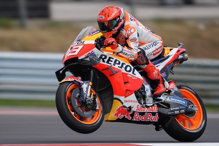 MotoGP   M.マルケス、復帰戦で6番手「この順位にとても驚いた。レースの目標は完走」/MotoGP第3戦ポルトガルGP予選