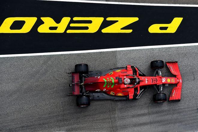 2021年F1第2戦エミリア・ロマーニャGP シャルル・ルクレール(フェラーリ)