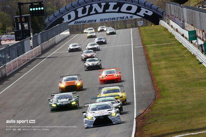 国内レース他 | ドライはポルシェ強し。PC Okazaki 911 GT3Rが2年連続でSUGOを制す【S耐第2戦SUGO Gr-1決勝】