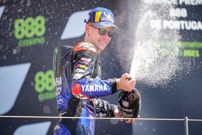 MotoGP | MotoGP第3戦ポルトガルGP:クアルタラロ、最後は独走で2連勝。M.マルケスは見事完走で7位フィニッシュ果たす