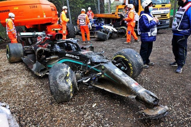 F1 | ライコネンとストロールが降格、ボッタス&ラッセルの接触は不問。リザルト変更でガスリーが7位に/F1第2戦