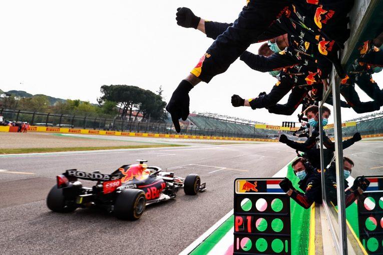 "F1 | ""レッドブル・レーシング・ホンダ""としての初勝利を達成「今年のマシンは戦えると実感」と山本MD/F1第2戦"