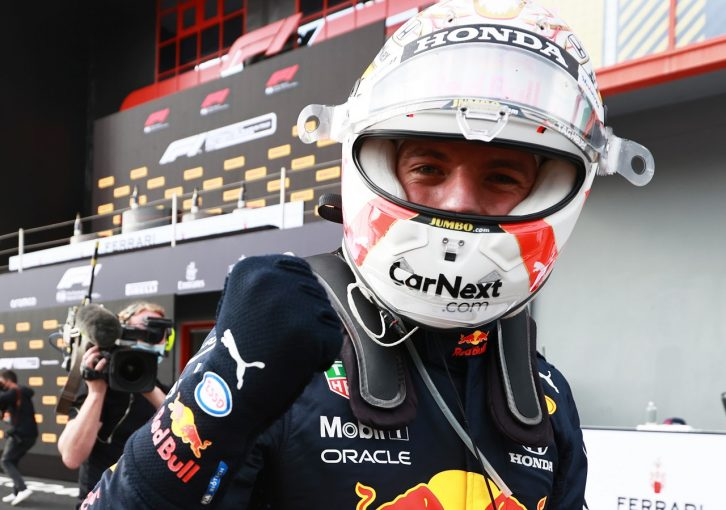 F1 | 優勝したフェルスタッペン「圧倒的に速かったわけではない。ミスなく戦えたことが勝因」レッドブル・ホンダ/F1第2戦