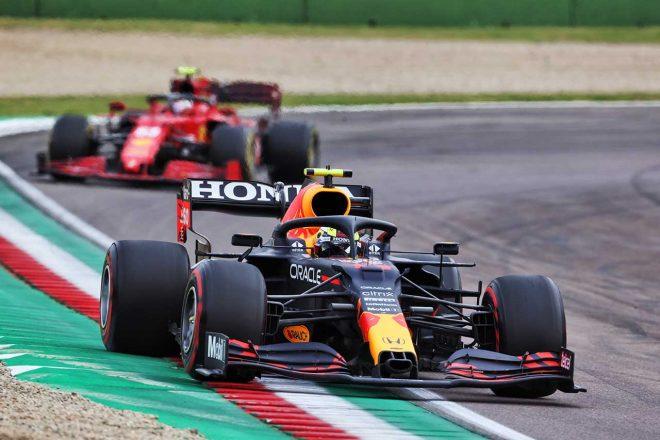 2021年F1第2戦エミリア・ロマーニャGP セルジオ・ペレス(レッドブル・ホンダ)