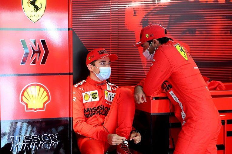 F1   ルクレール4位「近いうちに表彰台争いができるようになると感じた」フェラーリ/F1第2戦決勝