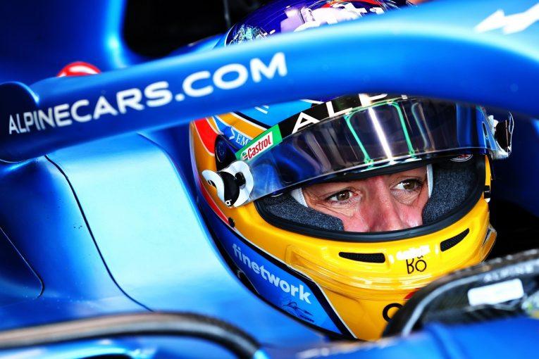 F1 | アロンソが復帰後初入賞「この1戦で4戦分の経験をしたような気がする」アルピーヌ/F1第2戦
