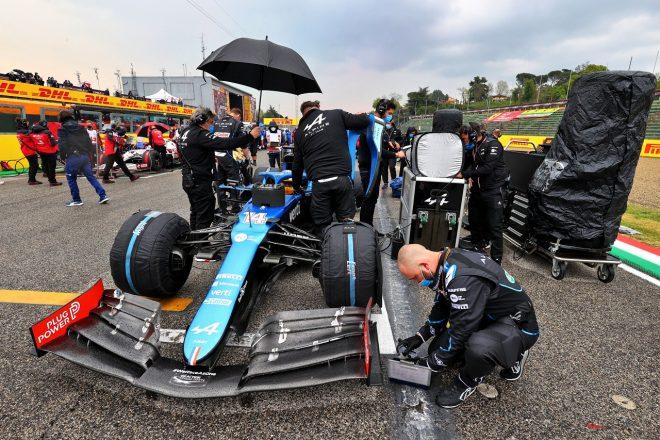 2021年F1第2戦エミリア・ロマーニャGP フェルナンド・アロンソ(アルピーヌ)