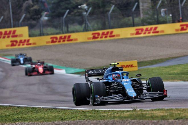 2021年F1第2戦エミリア・ロマーニャGP エステバン・オコン(アルピーヌ)