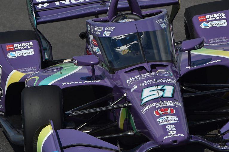 海外レース他 | インディカーデビュー戦のトップ10フィニッシュに満足のグロージャン「ローリングスタートは綺麗にはいかなかった」