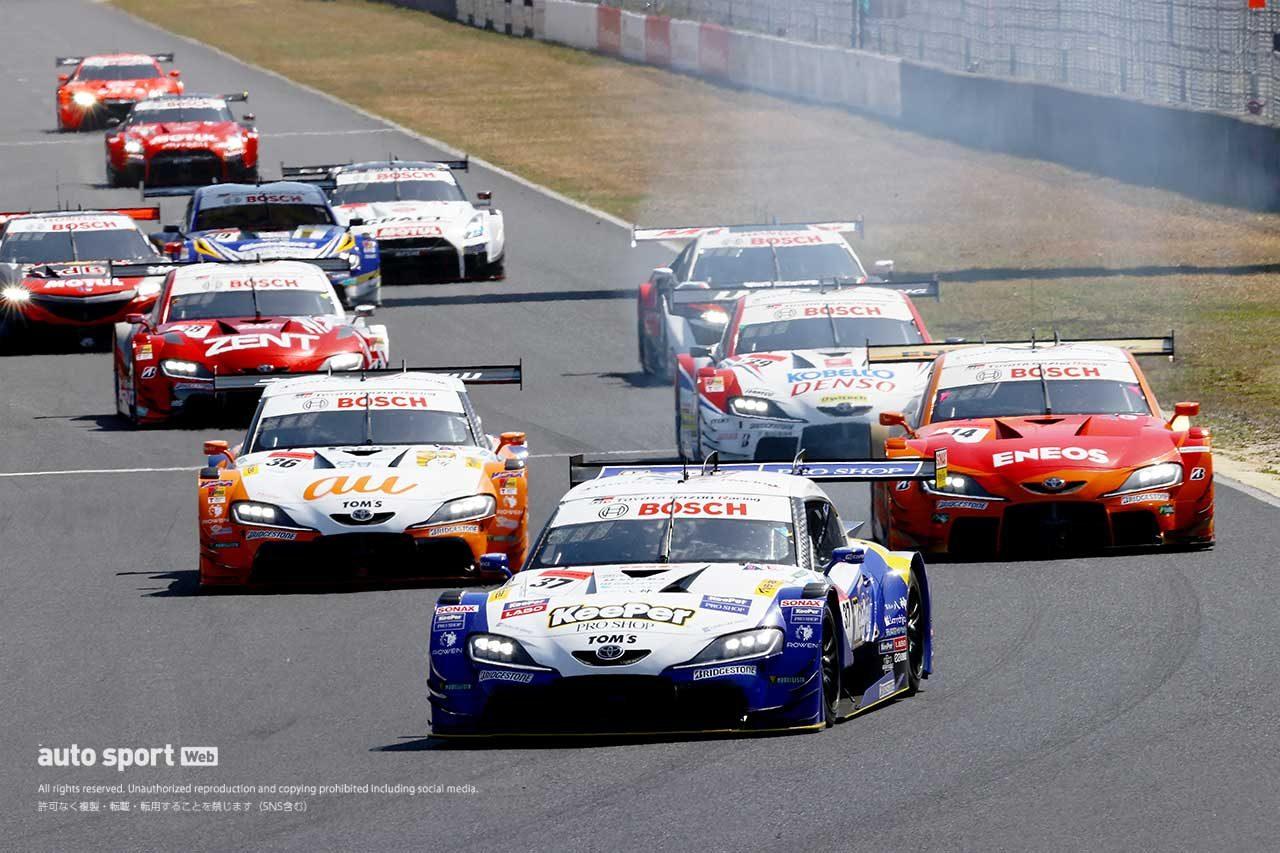 2021スーパーGT第1戦岡山 レーススタート