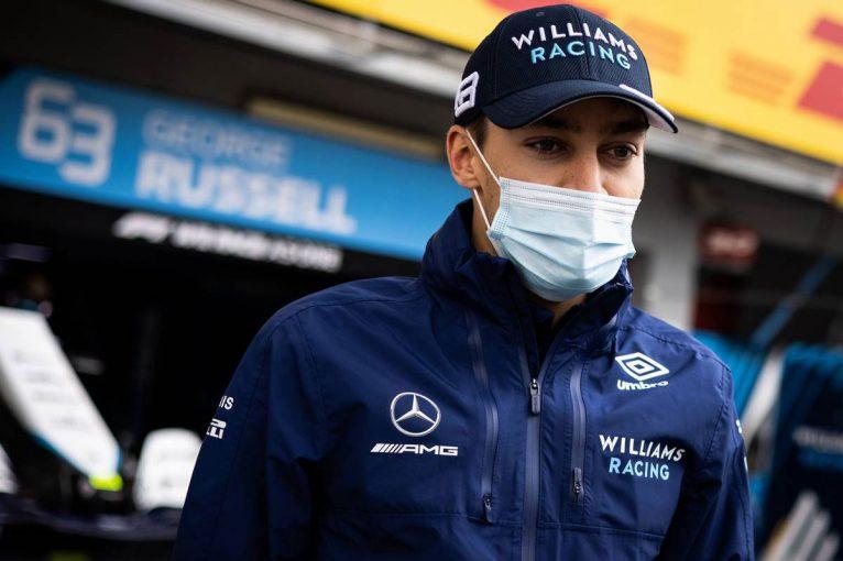 F1 | ラッセル、クラッシュ後の振る舞いについてボッタスやウイリアムズF1へ謝罪「感情が高まり冷静さを欠いた」