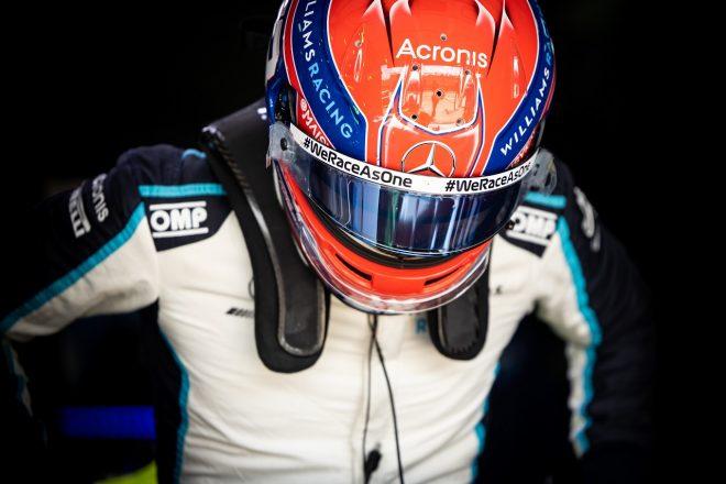 2021年F1第2戦エミリア・ロマーニャGP ジョージ・ラッセル(ウイリアムズ)