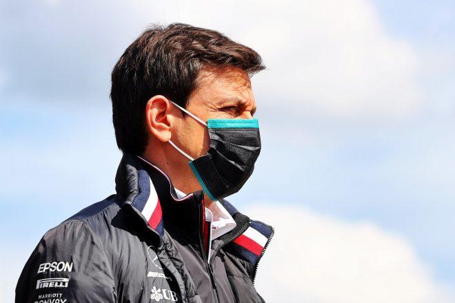 2021年F1第2戦エミリア・ロマーニャGP トト・ウォルフ(メルセデス代表)