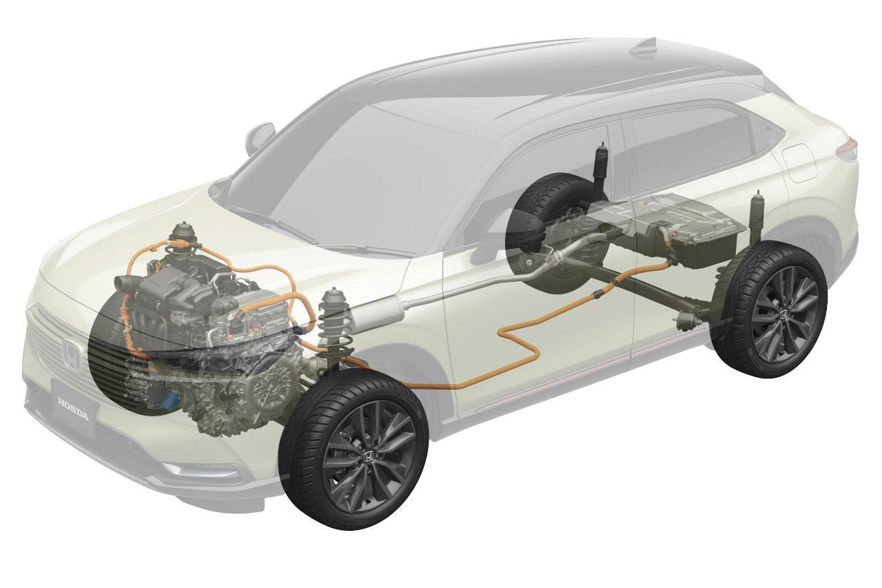 デザイン一新の新型『ホンダ・ヴェゼル』4月23日発売。HRD Sakuraの風洞で空力を検証