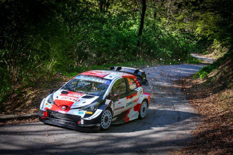 ラリー/WRC   新エアロ投入のトヨタ勢がトップ6に4台。初開催WRCクロアチア、走り出しはエバンス最速