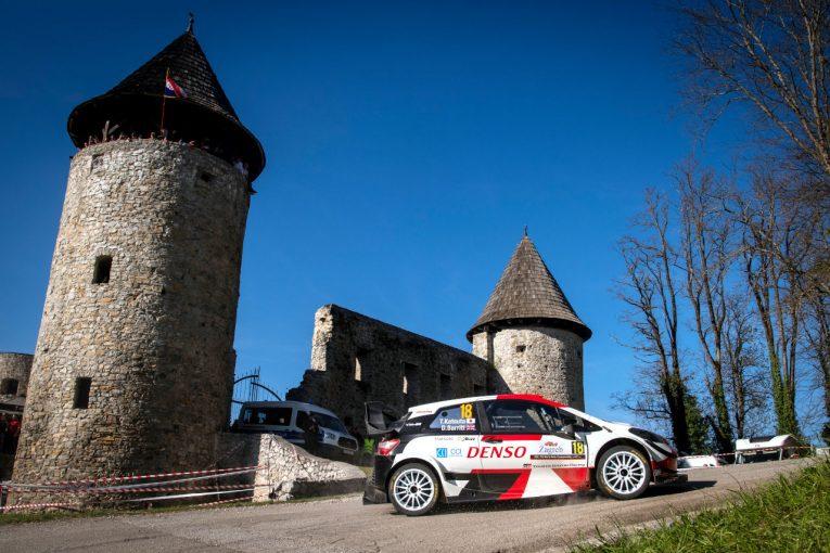 ラリー/WRC   勝田貴元が2ステージでSS優勝! 総合首位は好調の王者オジエ/WRC第3戦クロアチア