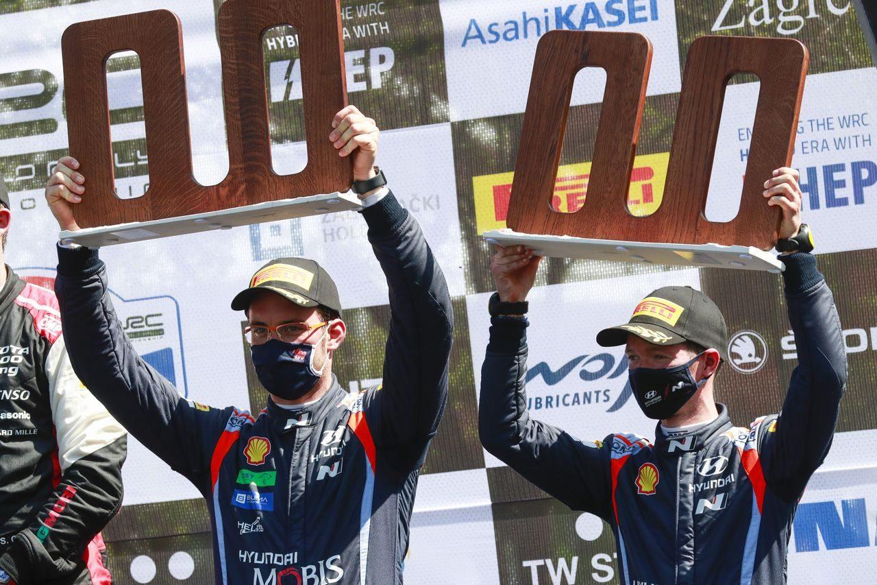 最終SSで再逆転! 手負いのオジエが0.6秒差でクロアチアを制し今季2勝目/WRC第3戦