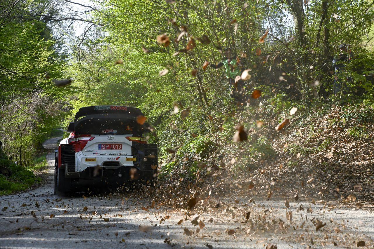 トヨタ、今季2度目の1-2達成。エバンスとの接戦制したオジエが選手権首位に/WRC第3戦